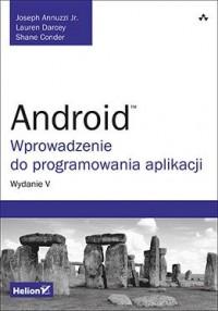 Android. Wprowadzenie do programowania - okładka książki