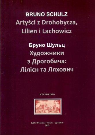 Artyści z Drohobycza, Lilien i - okładka książki