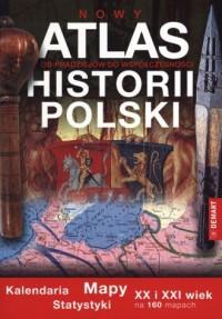 Atlas historii Polski. Mapy, kalendaria, - okładka książki