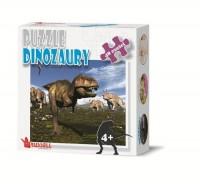 Dinozaury (puzzle 48-elem.) - zdjęcie zabawki, gry