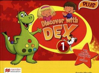 Discover with Dex 1. Plus. Książka - okładka podręcznika