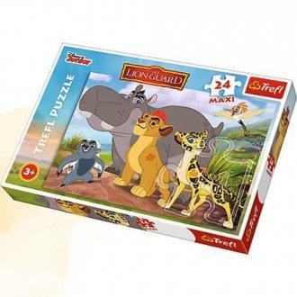 Dzielni strażnicy (puzzle maxi - zdjęcie zabawki, gry