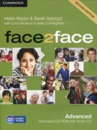face2face. Advanced Testmaker CD-ROM and Audio CD - okładka podręcznika