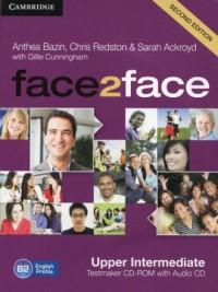 face2face. Upper Intermediate Testmaker CD-ROM and Audio CD - okładka podręcznika