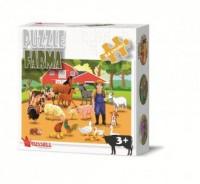 Farma (puzzle 24-elem.) - Wydawnictwo - zdjęcie zabawki, gry