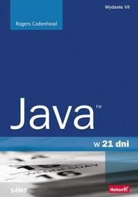 Java w 21 dni - okładka książki