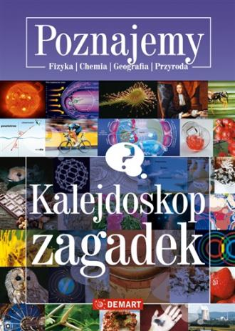 Kalejdoskop zagadek - okładka książki