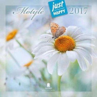 Kalendarz praktyczny 2017. Motyle - okładka książki