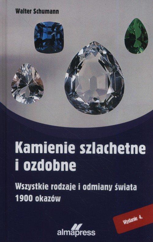 Kamienie szlachetne i ozdobne - okładka książki