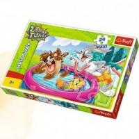 Kąpiel w ogrodzie (puzzle maxi 24-elem.) - zdjęcie zabawki, gry