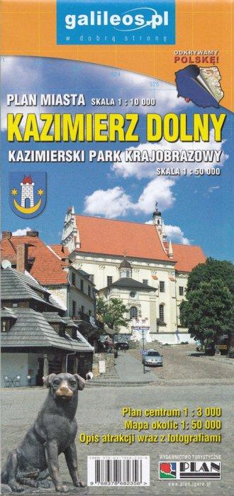 Kazimierz Dolny (skala 1:10 000) - okładka książki