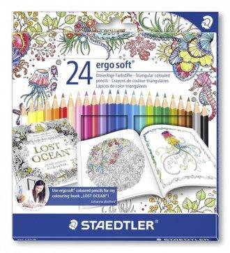 Kredki ołówkowe Ergo soft (24 kolory) - zdjęcie produktu