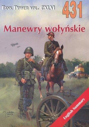 Manewry wołyńskie. Tank Power vol. - okładka książki