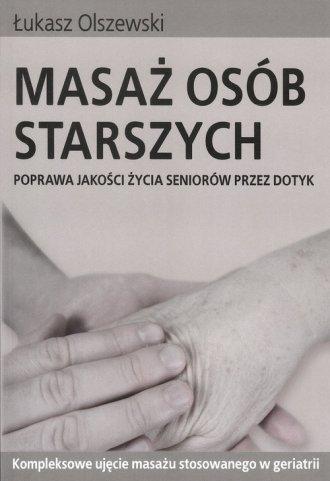 Masaż osób starszych - okładka książki