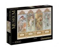 Mucha. The Four Seasons (puzzle 1000-elem.) - zdjęcie zabawki, gry