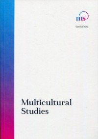 Multicultural Studies. Tom I (12016) - okładka książki
