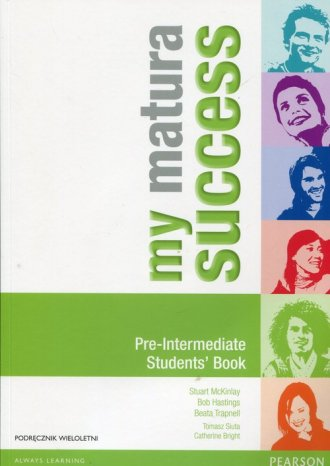 My Matura Success. Pre-Intermediate. - okładka podręcznika