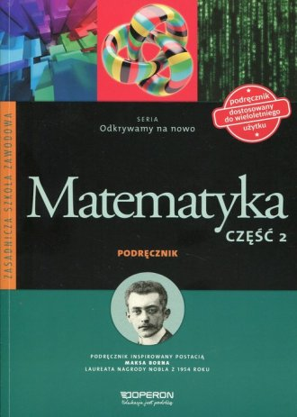 Odkrywamy na nowo. Matematyka. - okładka podręcznika