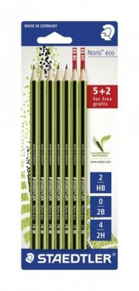 Ołówek Noris eco (5 x HB   2B i 2H) - zdjęcie produktu
