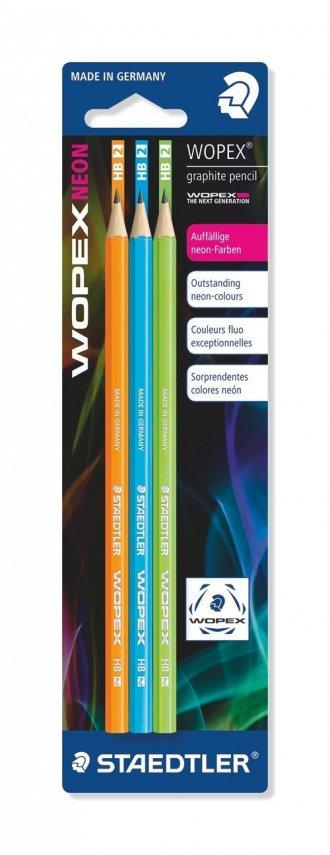 Ołówki Wopex HB (3 szt.) - zdjęcie produktu