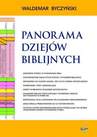 Panorama Dziejów Biblijnych - okładka książki
