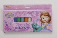 Plastelina (12 kolorów) - zdjęcie produktu