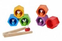 Plaster miodu z pszczółkami - zdjęcie zabawki, gry