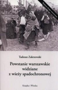 Powstanie Warszawskie widziane - okładka książki