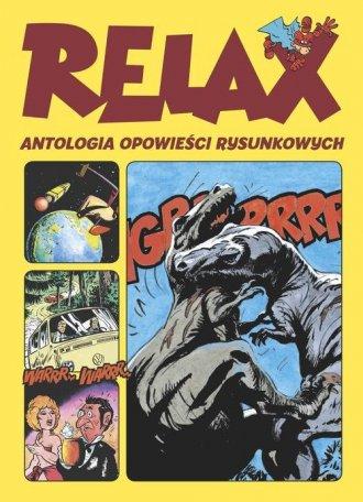 Relax. Antologia opowieści rysunkowych - okładka książki