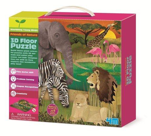Safari (puzzle 3D)  - zdjęcie zabawki, gry