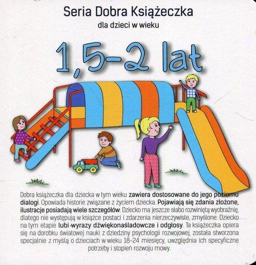 Seria Dobra Książeczka. 1,5-2 lat - okładka książki