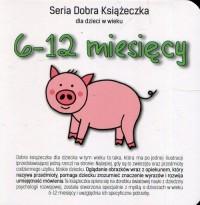 Seria Dobra Książeczka. 6-12 miesięcy - okładka książki