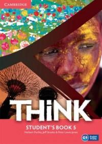 Think 5. Students Book - okładka podręcznika
