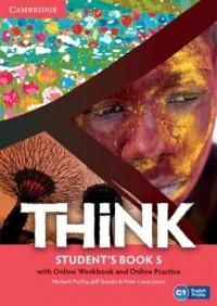 Think 5. Students Book with Online - okładka podręcznika