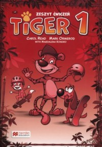 Tiger 1. Zeszyt ćwiczeń do wersji wieloletniej. Szkoła podstawowa - okładka podręcznika