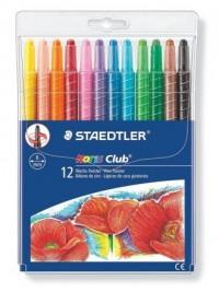 Twistery wykręcane, kredki woskowe (12 kolorów) - zdjęcie produktu