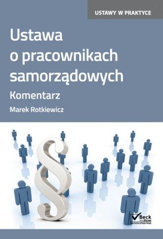 Ustawa o pracownikach samorządowych - okładka książki