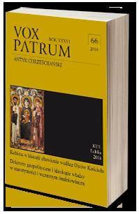 Vox Patrum. T. 66 - okładka książki