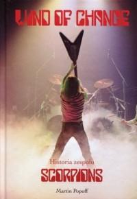 Wind of Change. Historia zespołu Scorpions - okładka książki