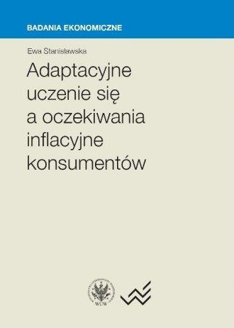 Adaptacyjne uczenie się a oczekiwania - okładka książki