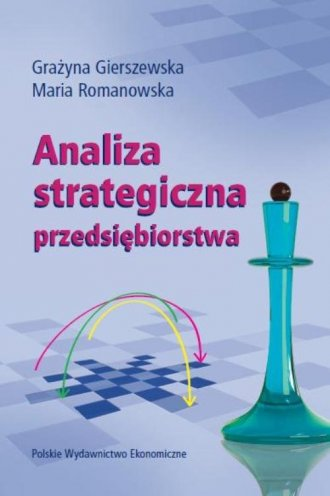 Analiza strategiczna przedsiębiorstwa - okładka książki
