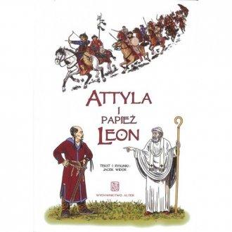 Attyla i Papież Leon - okładka książki
