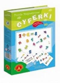 Cyferki (puzzle magnetyczne) - zdjęcie zabawki, gry