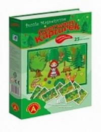 Czerwony Kapturek (puzzle magnetyczne) - zdjęcie zabawki, gry
