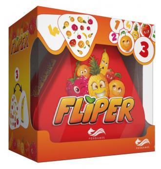 Fliper. Gra planszowa - zdjęcie zabawki, gry