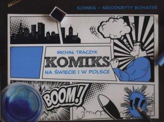 Historia komiksu w Polsce i na - okładka książki