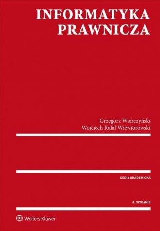 Informatyka prawnicza - okładka książki
