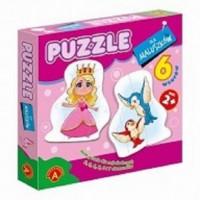 Królewna (puzzle dla maluszków) - zdjęcie zabawki, gry