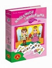 Królewicz i królewna (puzzle magnetyczne) - zdjęcie zabawki, gry