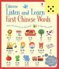 Listen and Learn. First Chinese Words - okładka książki
